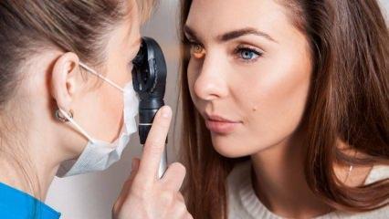 Göz tansiyonu (Glokom) nedir ve belirtileri nelerdir? Göz tansiyonuna iyi gelen kür