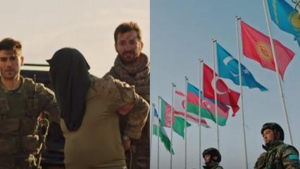 Savaşçı 66.bölüm fragmanı: 'Türk birliğinin bayrakları önünde diz çök!'