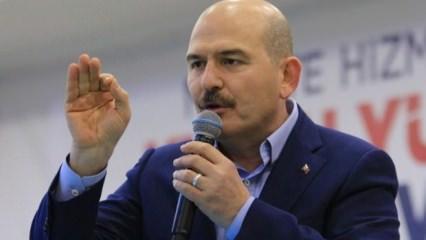 Bakan Soylu açıkladı: İran ile birlikte başladık!
