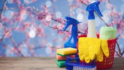 Bahar temizliğine nereden başlamalı?