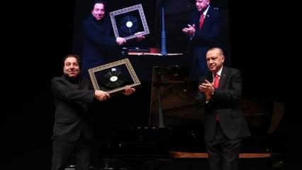 Cumhurbaşkanı Erdoğan'dan canlı yayında özel Fazıl Say isteği!