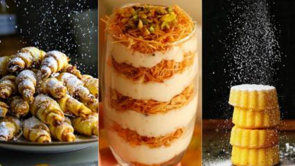 Evde yapılabilecek en pratik tatlı tarifleri