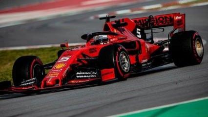 Formula 1'de heyecan başlıyor!