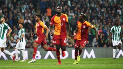G.Saray'dan Bursa'da müthiş geri dönüş!