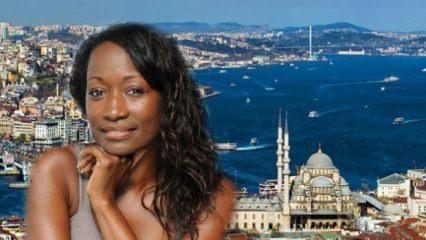 Amerikalı şarkıcı Della Miles İstanbul'da: Selamünaleyküm Türkiye!