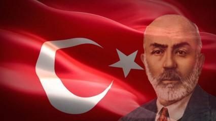 Mehmet Akif Ersoy Türkiye'nin dört bir yanında anıldı!