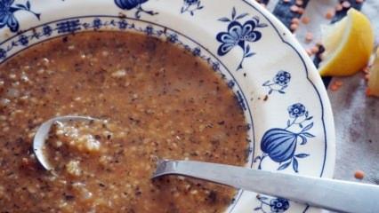 Nefis ezogelin çorbası tarifi