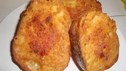 Nefis yumurtalı ekmek tarifi