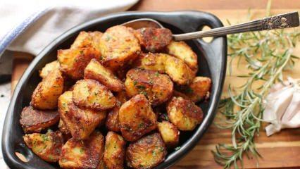 Patates kavurması nasıl yapılır?