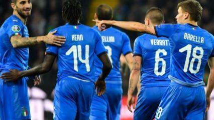 İtalya gençleriyle kazandı