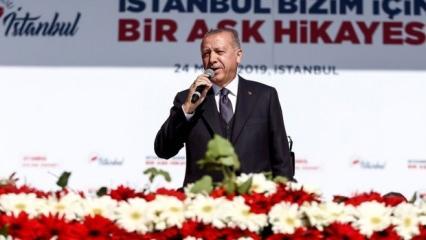 Rekor katılım! Erdoğan sayıyı açıkladı...
