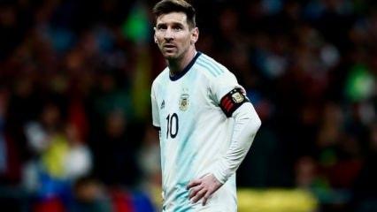 Venezuela Messi'li Arjantin'i dağıttı