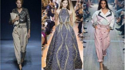 2019 İlkbahar ve yaz moda trendleri