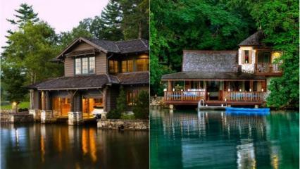 Dünyanın en güzel göl evleri