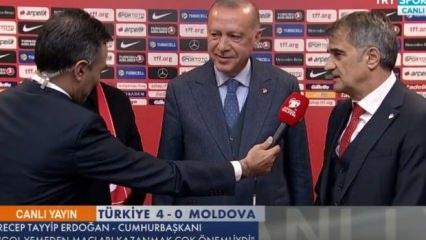 Erdoğan ve Güneş'ten 4-0 yorumu