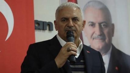 Binali Yıldırım'dan çok önemli İstanbul açıklaması