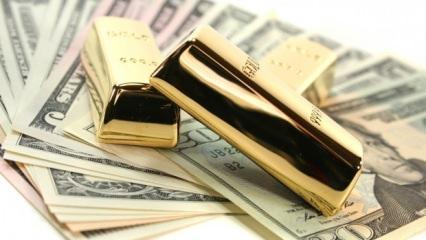 Dolar ve altında sert düşüş