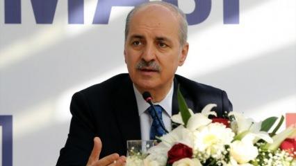 Numan Kurtulmuş'tan 'Golan Tepesi' açıklaması