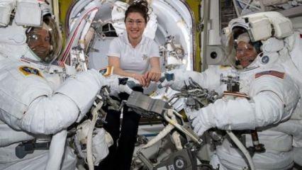 Uzay yürüyüşü kıyafet problemi yüzünden iptal edildi