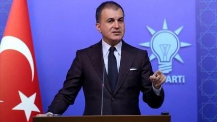AK Parti Sözcüsü Çelik'ten sosyal medya uyarısı