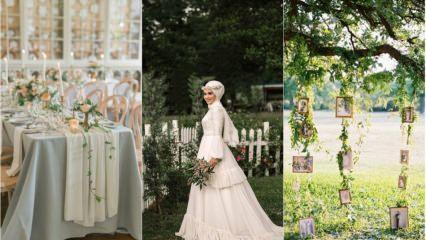 Bahar düğünleri için dekorasyon önerileri