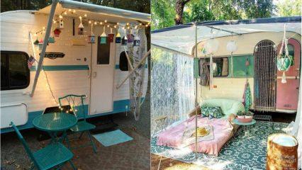 Karavanlarınızda uygulayabileceğiniz farklı karavan tasarımları