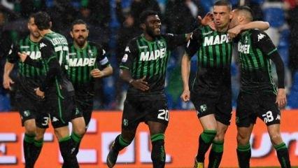 Milli futbolcumuz İtalya'yı salladı!