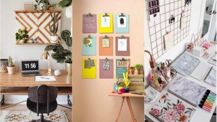 Ofis masalarınıza özel dekorasyon önerileri