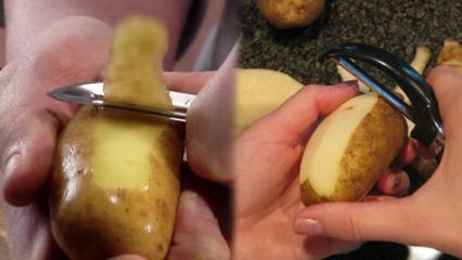 Patatesin faydaları nelerdir? Patates kabuklarını sakın çöpe atmayın!