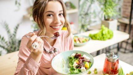 Devamlı tüketildiğinde kilo verdiren besinler
