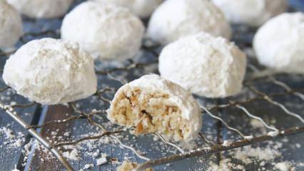 Enfes tarçınlı lokmacık kurabiye tarifi