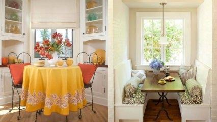 Mutfak masası dekorasyonları