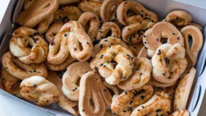 Bayatlamayan enfes tuzlu kurabiye tarifi