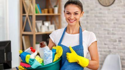 Kolay ev temizliği nasıl yapılır?