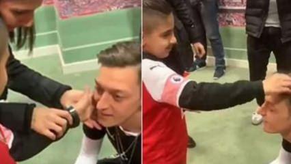 Mesut Özil, yine gönülleri fethetti