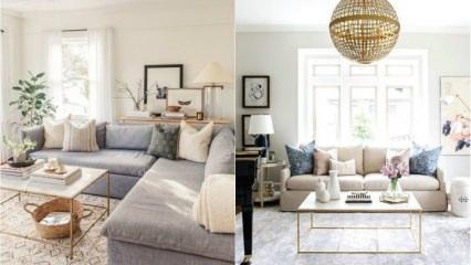 Evinizi daha sade hale getirecek dekorasyon önerileri