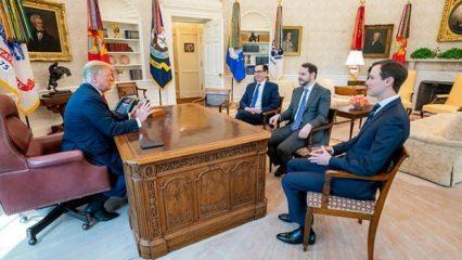 Bakan Albayrak, ABD Başkanı Trump ile görüştü