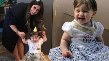 Buse Terim'den küçük kızına doğum günü!