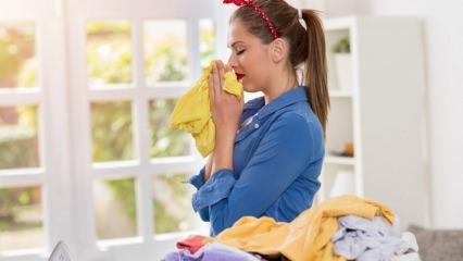 Çamaşırların güzel kokması için doğal yöntemler