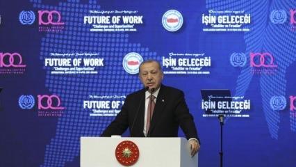 Erdoğan: Asla rahatsızlık duymayınız