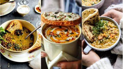 İftar için değişik çorba tarifleri