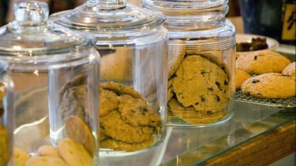 Bayatlamayan kavanoz kurabiyesi nasıl yapılır?