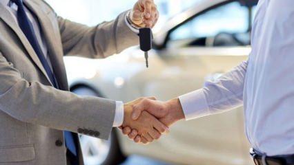 Otomobilde tanzim satış dönemi