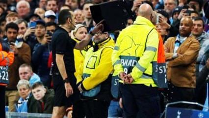 UEFA'dan Cüneyt Çakır açıklaması!
