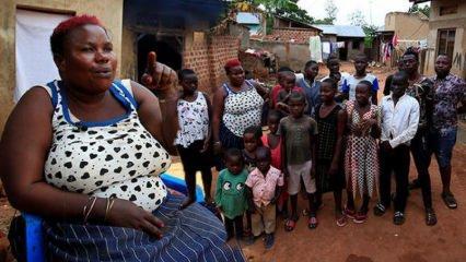 44'üncü çocuğunu doğurdu! Herkesi şoke etti