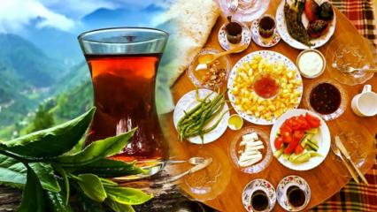 Çay içmek kilo aldırır mı? Yemekten sonra çayı şekerli içerseniz...