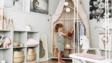 Yaz tatiline özel eğlenceli çocuk odası dekorasyonları