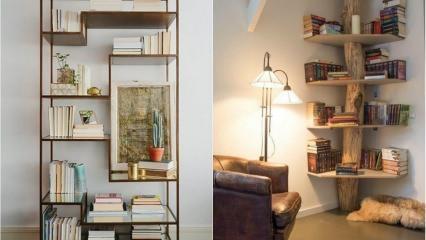 Evde dergi ve kitaplık nasıl yapılır?