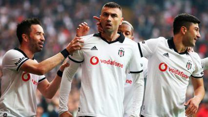 Galatasaray öncesi Beşiktaş'tan gol şov!