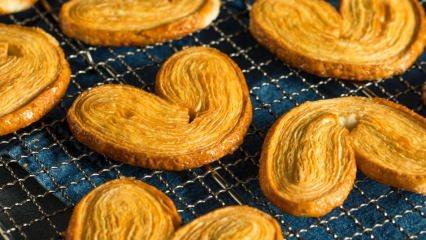 Pratik Palmier kurabiye nasıl yapılır?